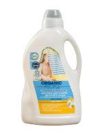 Organic People Eco prací gél na detskú bielizeň s organickými výťažkami z harmančeka a bavlny Baby Bubble- 1500ml