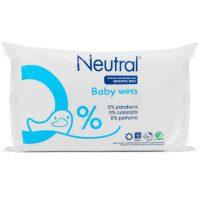 Neutral Skin Care Neutral 0% Detské obrúsky - 63 obrúskov