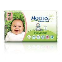 MOLTEX - Nature no. 1 – jednorázové plienky Veľkosť: 3 - 6 kg