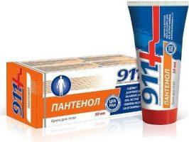 Twinstec 911+ Panthenol - krém na telo