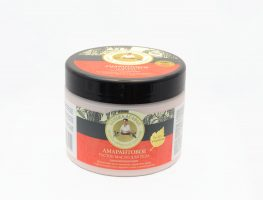 Babička Agafa amarantový hustý omladzujúci telový olej - 300 ml