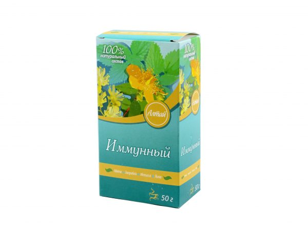 """100 % prírodný čaj """"Imunita"""" - Firma Kima - 50g"""